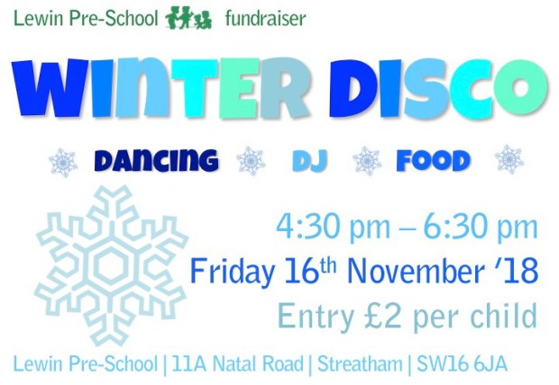 Winter Disco 18 A4